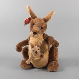jirra kangaroo 10 brown plush kangaroo new