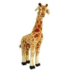 Jocelyn the Giraffe 2 Ft Tall Standing Stuffed Plush Animal