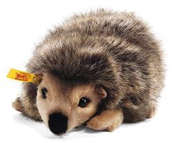 Steiff Joggi Hedgehog Stuffed Animal with Soft Woven Fur - P