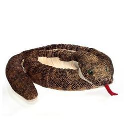 Fiesta Toys Jumbo Anaconda Snake Coiled Plush Stuffed Animal