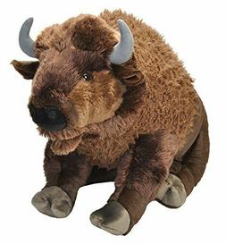 Wild Republic Jumbo Bison Plush, Giant Stuffed Animal, Plush