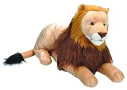Wild Republic Jumbo Lion Plush, Giant Stuffed Animal, Plush