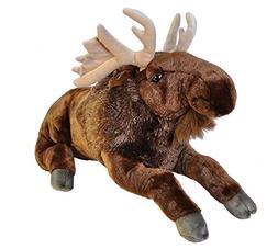 Wild Republic Jumbo Moose Plush, Giant Stuffed Animal, Plush