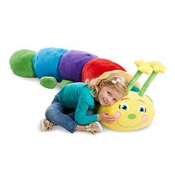 Melissa & Doug Jumbo Rainbow Caterpillar Stuffed Animal