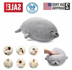 Jumbo Stuffed Plush Animal Seal Cotton Kids Big Doll Soft Pi