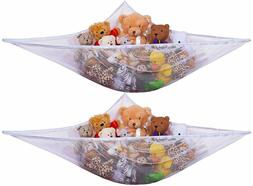 Jumbo Toy Hammock -2PACK- Organize stuffed animals or childr
