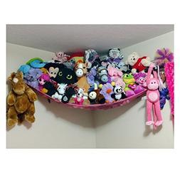 Jumbo Toy Hammock, Powkoo Extra Large Toy Hammock Storage Ne