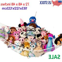 Toy Hammock Net Organizer Corner Stuffed Animals Kids Hangin