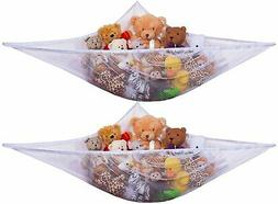 Jumbo Toy Hammock for Stuffed Animals & Toys - 2 PACK - Expa