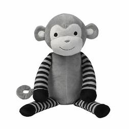 Bedtime Originals Jungle Fun Gray/Black Plush Monkey Stuffed