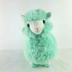 Justice Plush Llama Blue Stuffed Animal Kelly Toy NWT