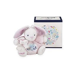 Kaloo K960282 Imagine Chubby Rabbit Plush Toy, Pink, 18 cm/7