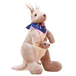 Kangaroo Doll Soft Toy Stuffed Animals The Best Gift For Kid