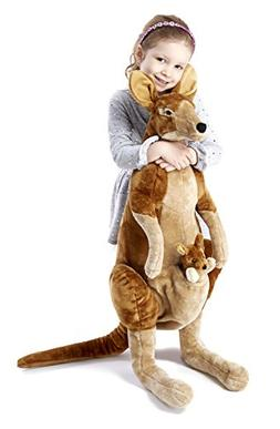 Melissa & Doug® Kangaroo and Joey Plush