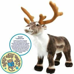 Karpok the Caribou | 18 Inch Stag Large Stuffed Animal Reind