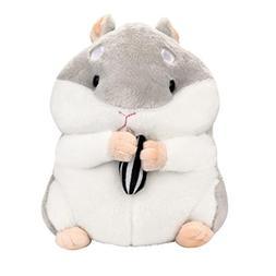 Kawaii Plush Hamster, 9inch Stuffed Animal Toys for Kids, Pe