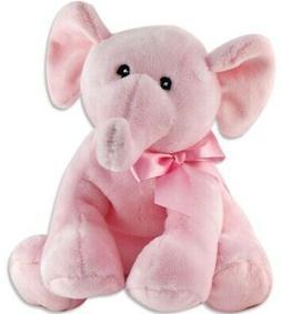 KELLI PLUSH ELEPHANT IT'S A GIRL STUFFED ANIMAL BABY SHOWER