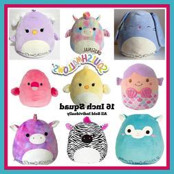 "Kellytoy Squishmallow 16""  Stuffed Animals Super Soft Pillow"