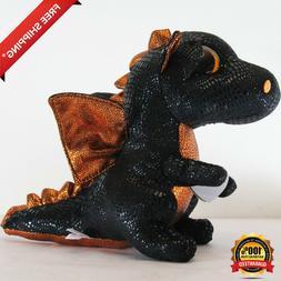kids Ty Beanie Boos children Merlin the Dragon Plush Regular