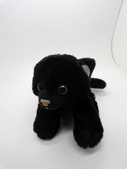 Pottery Barn Kids Halloween Black Cat Plush Wild Republic  #