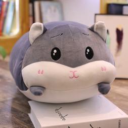 Kids Hamster Hugging Baby Pillow Plush Stuffed Animals Toy S