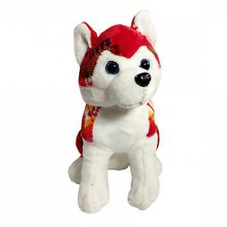 TychoTyke Kids Stuffed Animal Super Soft Plushy Husky Dog So
