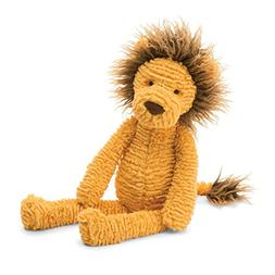 Jellycat Knit Wit Lion Stuffed Animal, 16 inches