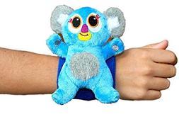Critter Cuffs On-The-Go Stuffed Koala with Reversible Wristb