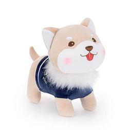 E-SCENERY 8inch Kwaii Soft Puppy Dog Toy, Stuffed Animal Dol