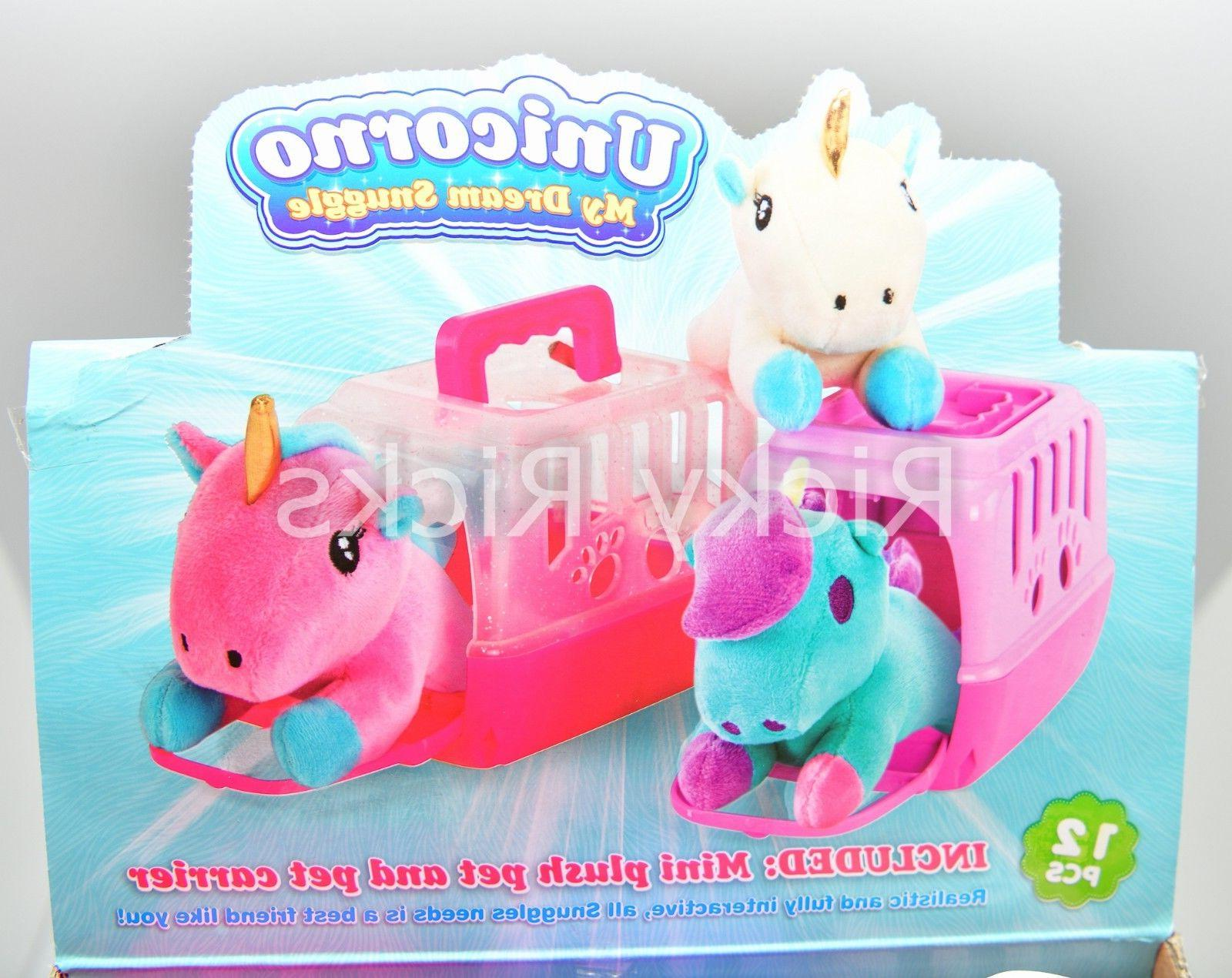 1 Small Toy Unicorn + Case Cute Stuffed Animal