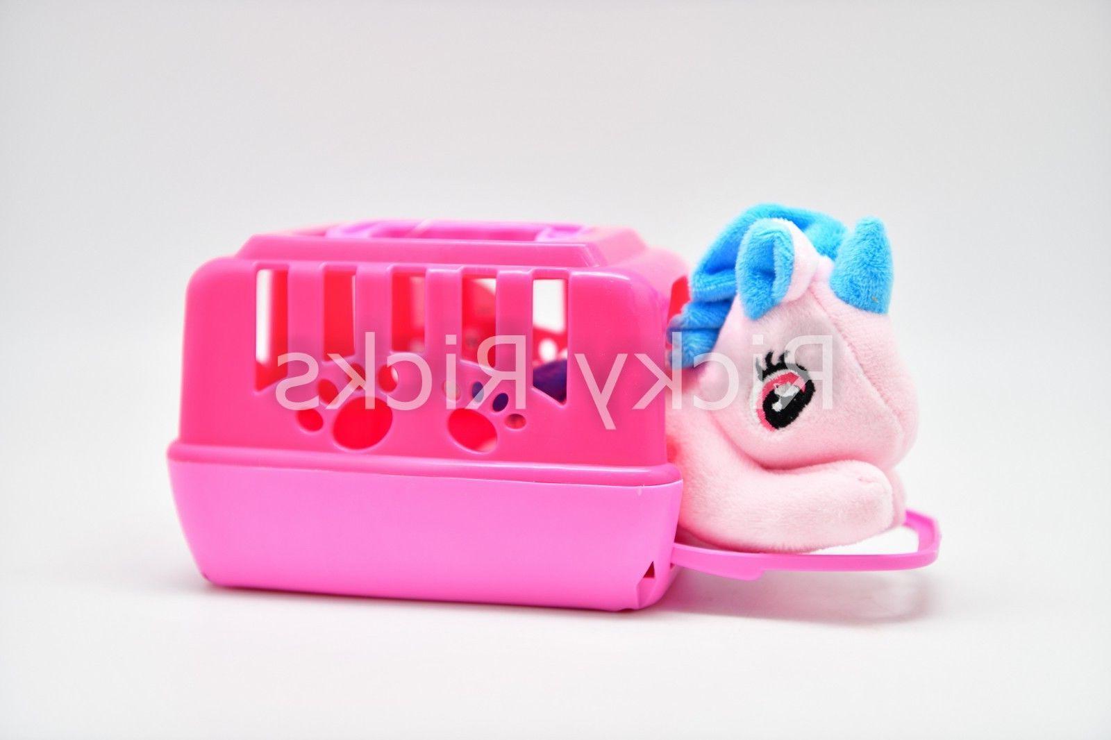 1 Toy Unicorn + Case Stuffed