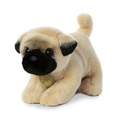 10 Inch Miyoni Pug Puppy Dog Plush Stuffed Animal by Aurora