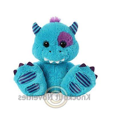"""10"""" Taddle Toes - Maurice Monster - Blue Toy Cuddle Stuffed"""