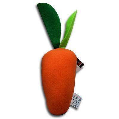 """10"""" Moustache Carrot Friends Plush New"""