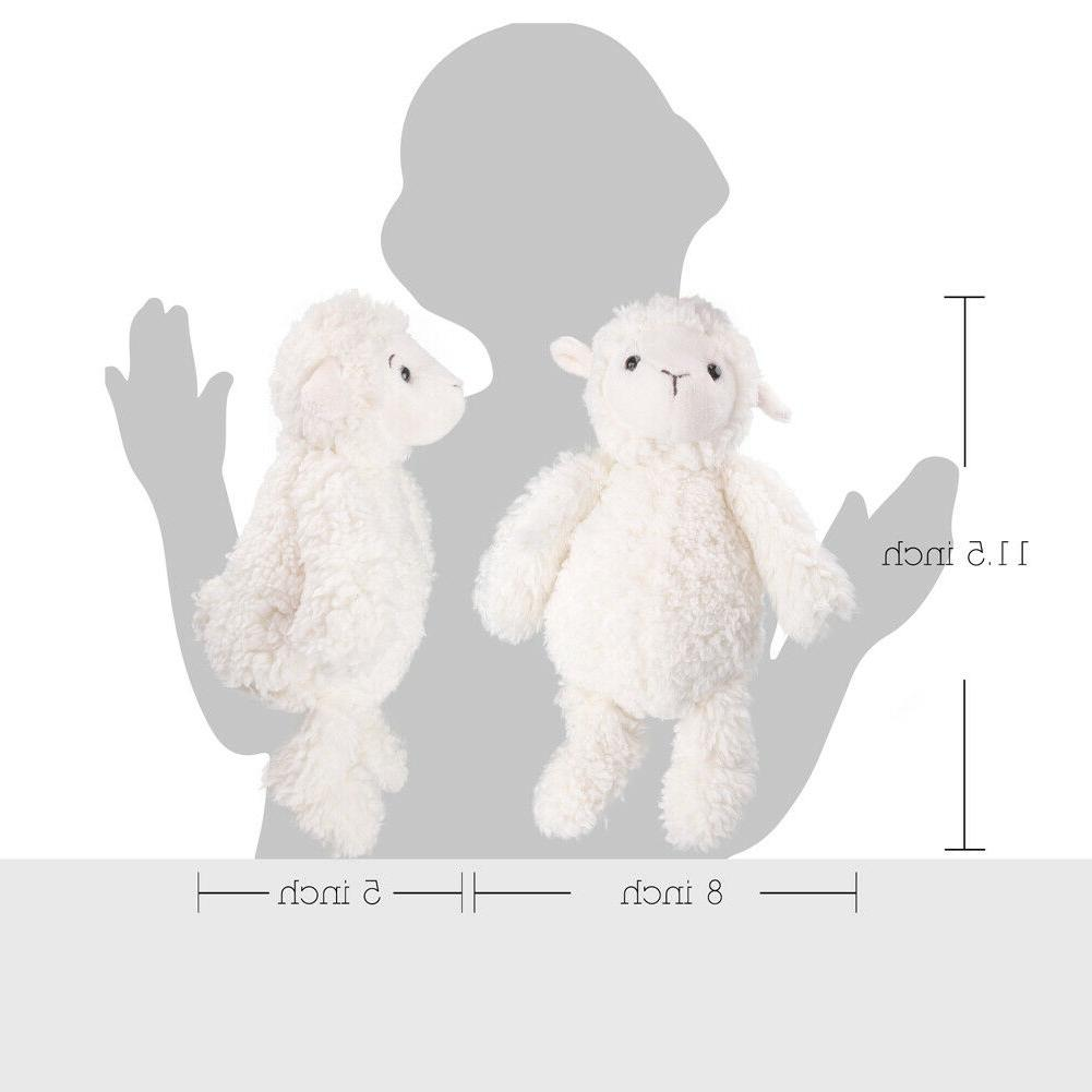 11.5 inch Lamb Stuffed Animals for 3 Months+ Baby Kids Collectible