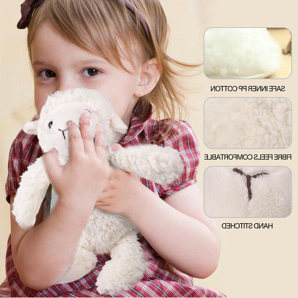 11.5 inch Lamb Stuffed Animals Toy 3 Months+ Baby Collectible