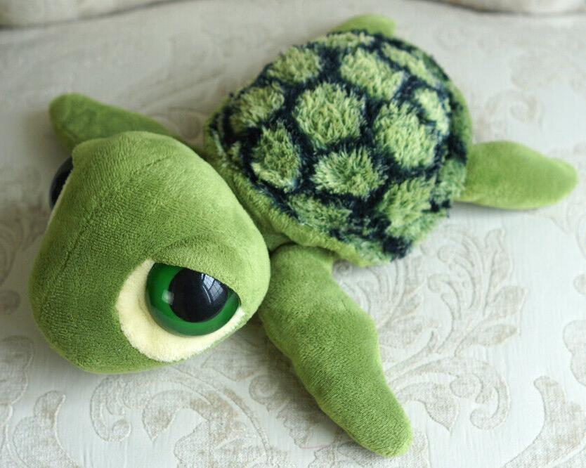 "Aurora 11"" Green Sea Turtle Plush Stuffed"