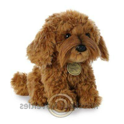 "11"" Miyoni Labradoodle Toy Stuffed"