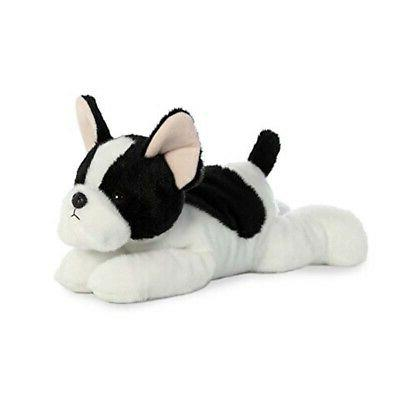 "12"" Flopsie - French Bulldog Pup Toy Cuddle Stuffed Animal P"