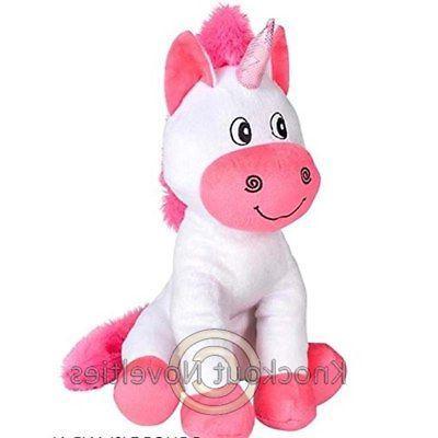 """12"""" Unicorn Animal Play Fun Toy"""