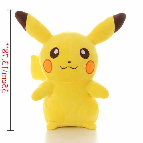 12'' Doll POKEMON Pikachu Plush Animal Gift-