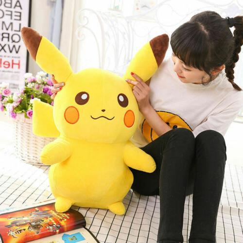 12'' Teddy Doll POKEMON Pikachu Soft Plush Animal Gift-