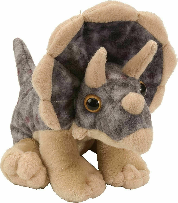 12 inch dinosaur stuffed animal triceratops plush