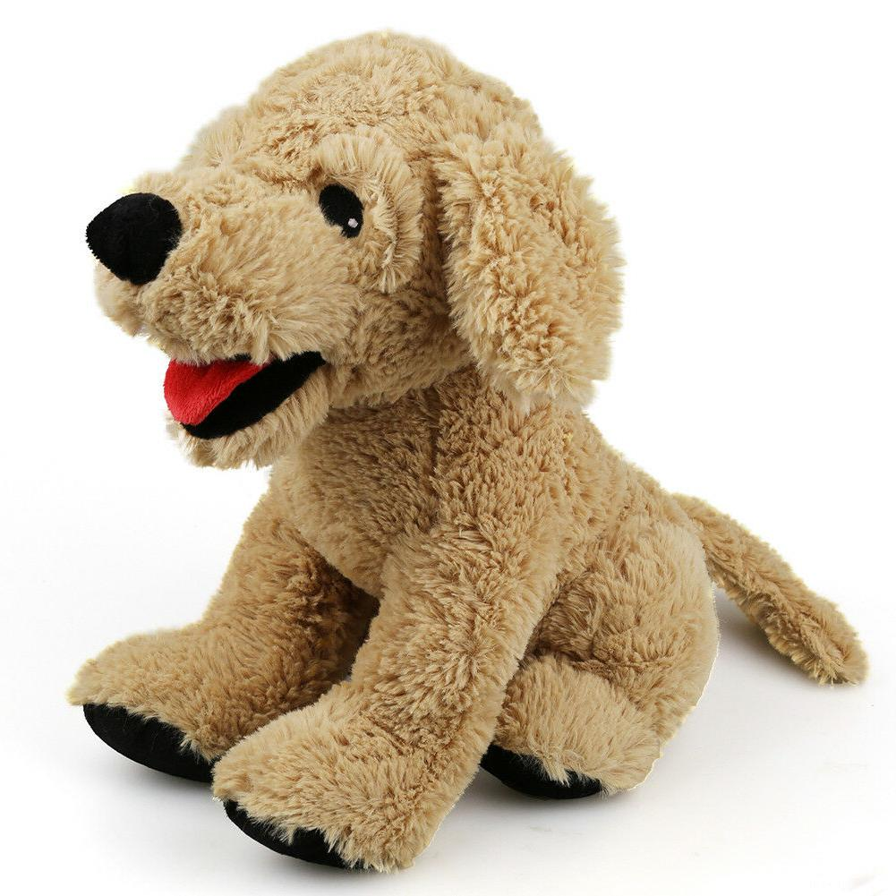 12'' Puppy Stuffed Animals Soft Cuddly Golden Retriever Plus