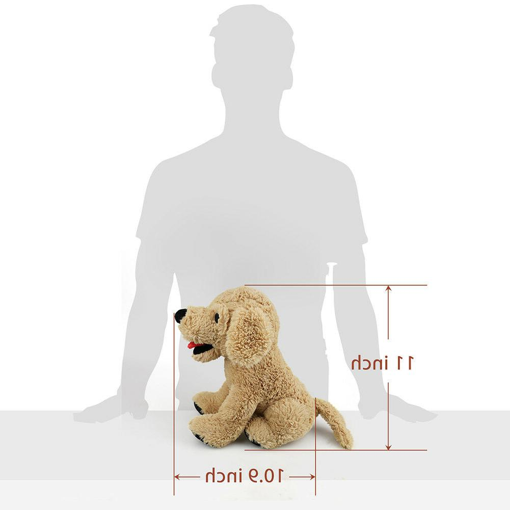 12'' Plush Dog Puppy Stuffed Soft Golden Retriever Kids Doll Toys