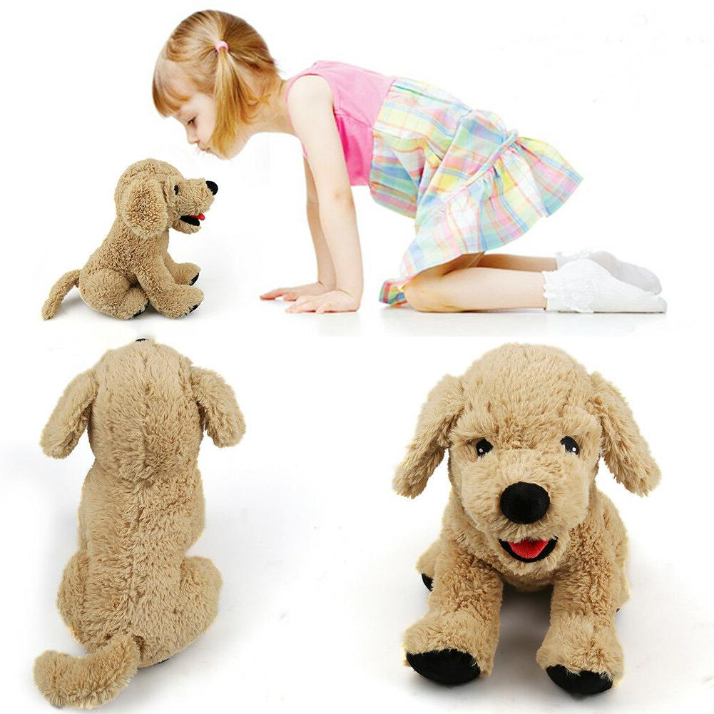 12'' Stuffed Soft Golden Retriever Kids Toys