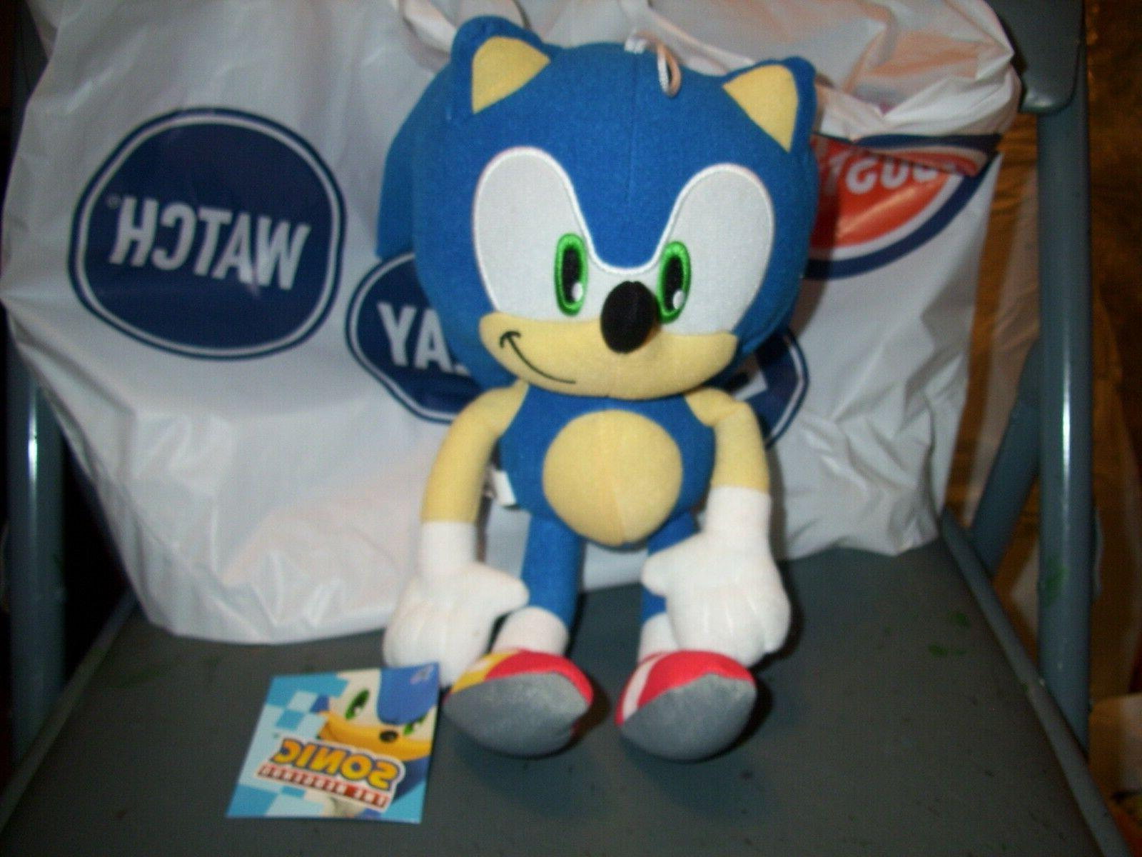 12 sonic the hedgehog plush stuffed animal