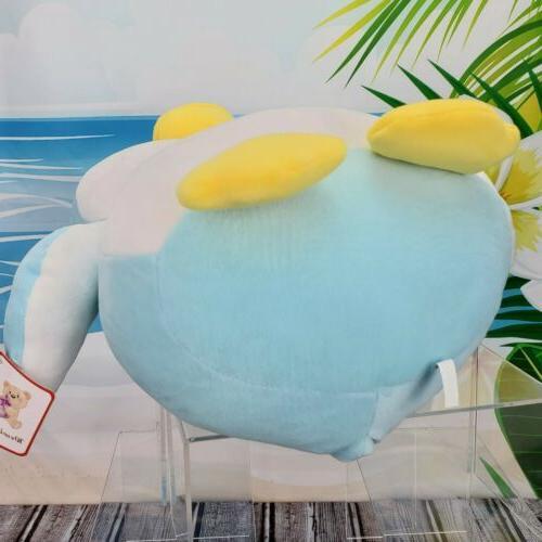 "12"" Squishy Blue Penguin Plush Stuffed Animal Toy"