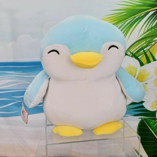 "12"" WEWILL Blue Penguin Super Stuffed"