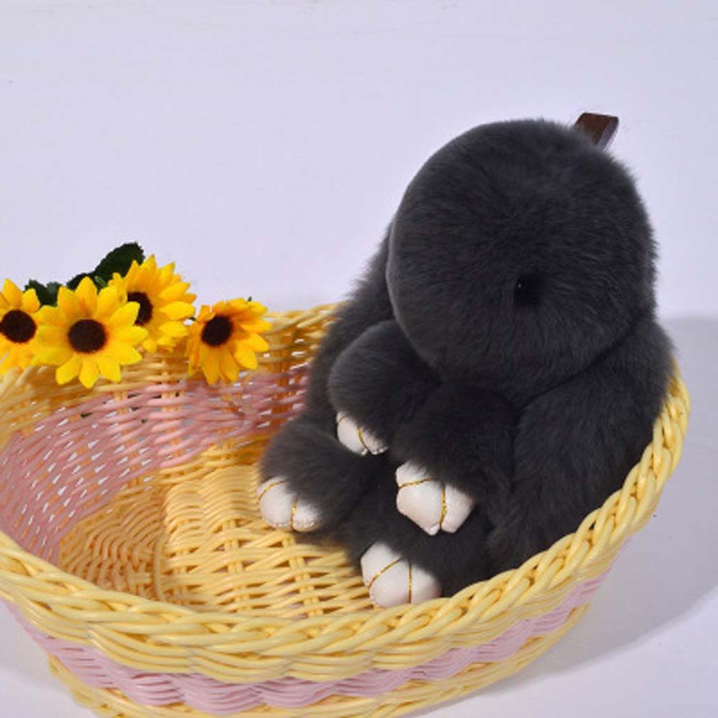 13cm Keychain Baby Gift Rabbit Doll Chains baby kids girl gift